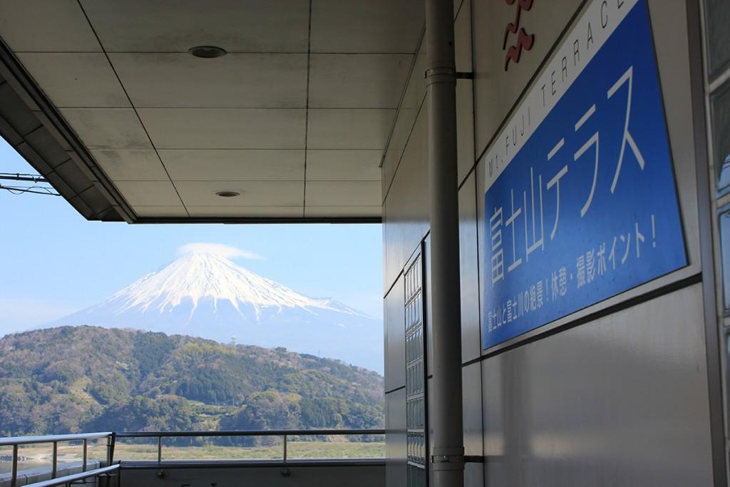 富士山テラスからの眺望