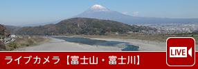 ライブカメラ【富士山・富士川】