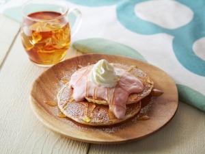 パンケーキ ハニーグアバ
